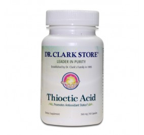 Acide alpha lipoïque (Thioctic acid) 360mg
