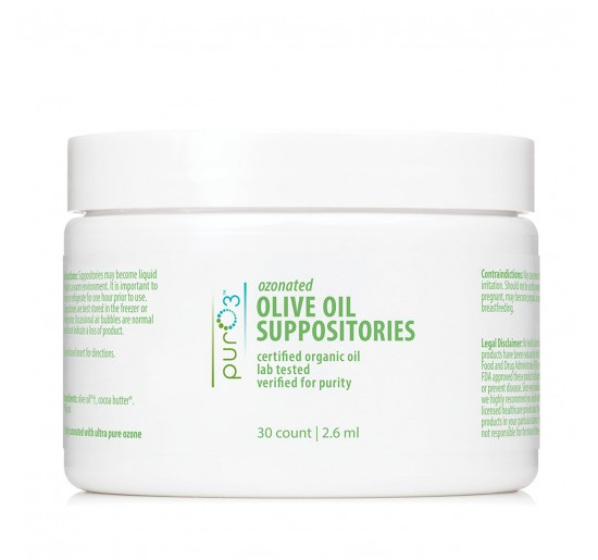 PurO3 Ozonated Oil Suppositories